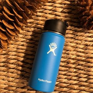 Hydro Flask 16oz Color: Pacific w/ Coffee Flip Lid